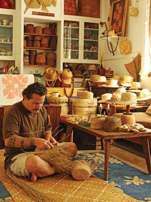 hala weaver in Hawaii