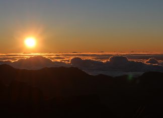 Haleakala Crater Sunrise Photo