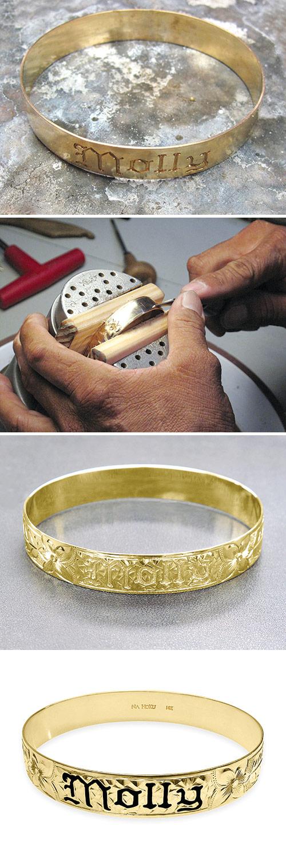 Na Hoku hand crafted golf Hawaiian bracelets
