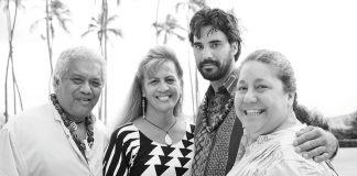Hawaiian cultural leaders in Maui