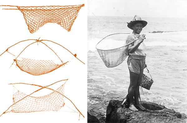 hawaiian fishing nets