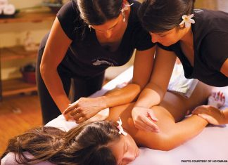 Lomilomi spa massage in Maui Hawaii