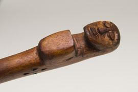 Hawaiian wooden weapon