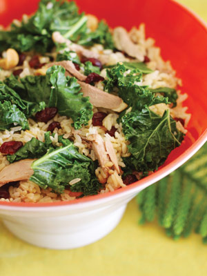 holiday-test-kitchen-kale-unfried-rice-cranberry-side-salad