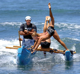 Outrigger Canoe Surfing Surfing Canoes Maui Canoe