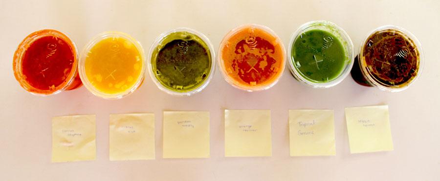 Jamba Juice taste test