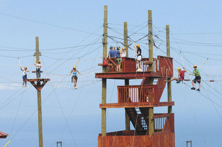 kapalua maui ropes course