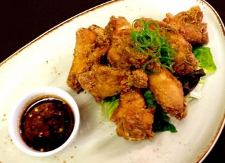 karaage chicken wings recipe