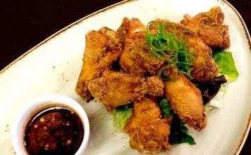 karaage chicken wings recipe