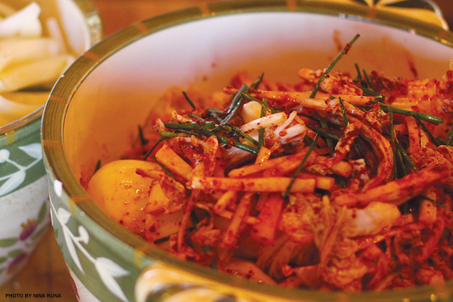 how to make kim chee