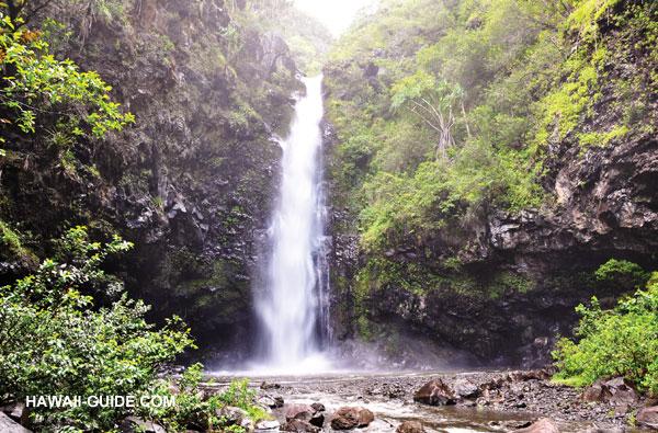 Kipahulu Maui Alele Waterfall