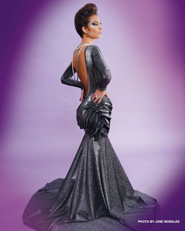Koa Johnson designer gown