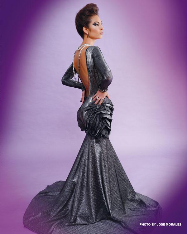 Koa Johnson designer gown
