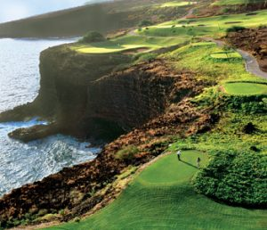 Golfing Lanai