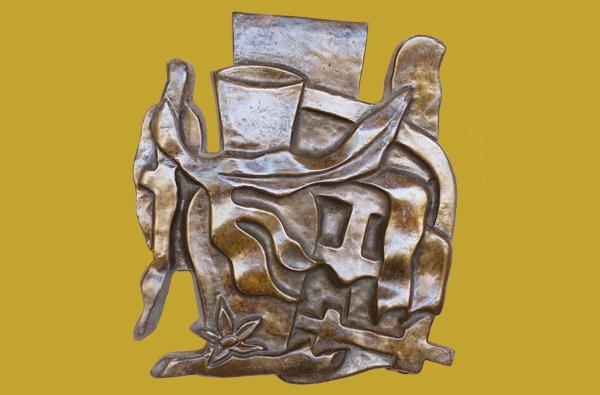 Fernand Leger sculptures on Maui