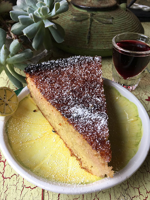lemon macadamia cake recipe