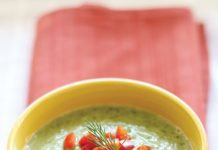 live spicy green soup recipe