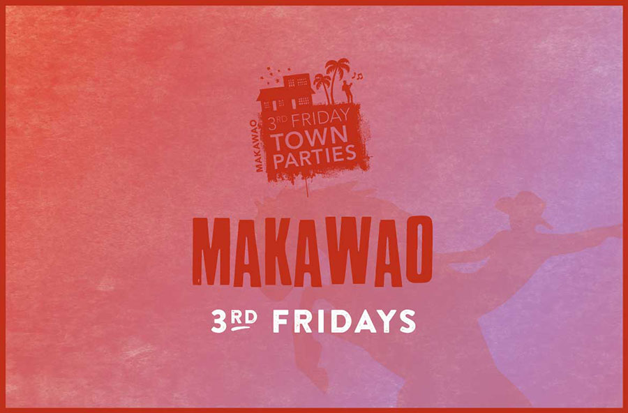 Makawao Friday Town Party in Maui