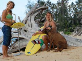 female big wave surfers