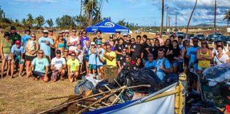 Maui beach cleanup