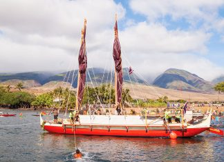 voyaging canoe maui