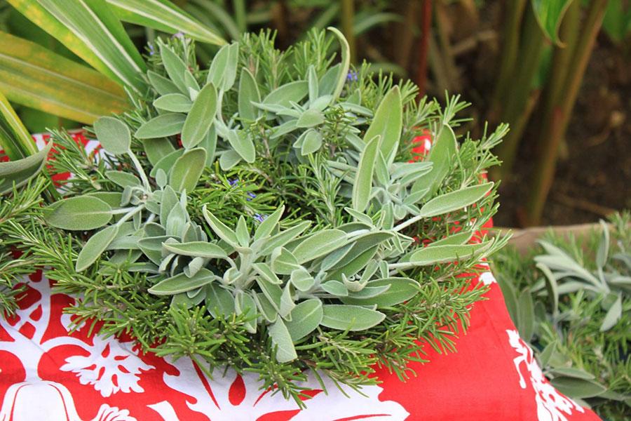 hawaiian holiday wreath