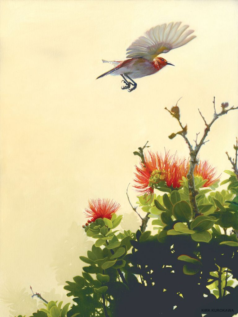 art fundraiser for maui birds