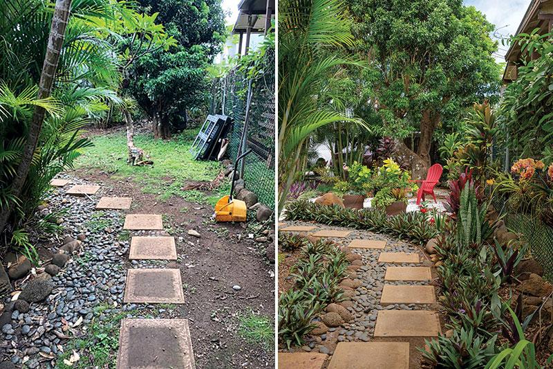 garden makeover