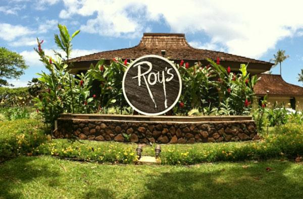 Roy's on Maui