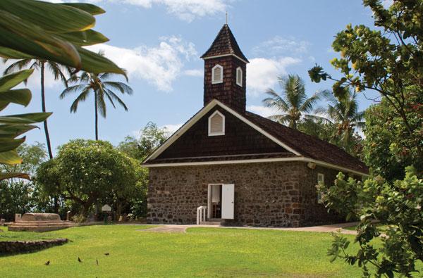 Keawalai church