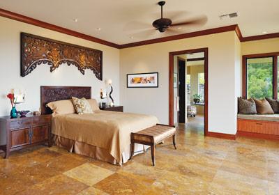 Kapalua dream home bedroom