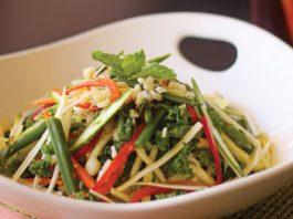 delicious vegetables at Maui restaurants