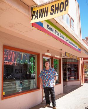 Maui pawn shop