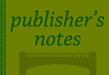 publisher's note