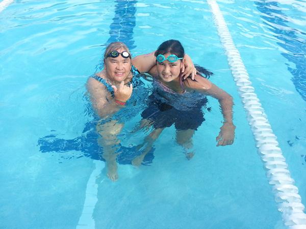 special olympics maui swim team fundraiser