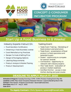 start up a food business