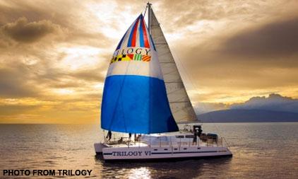 Trilogy Maui sunset sail
