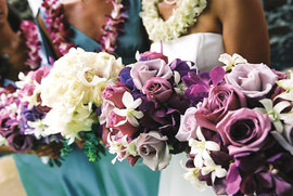 maui wedding bouquets