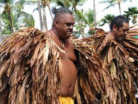 Hawiian ti capes