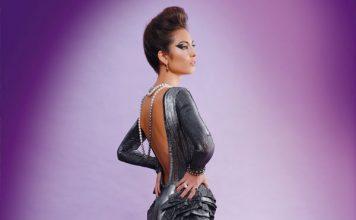 Koa Johnson designer dress