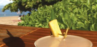 tropical cocktail recipe ideas