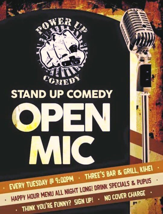 open mic stand up comedy