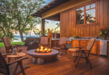 outdoor kitchen maui