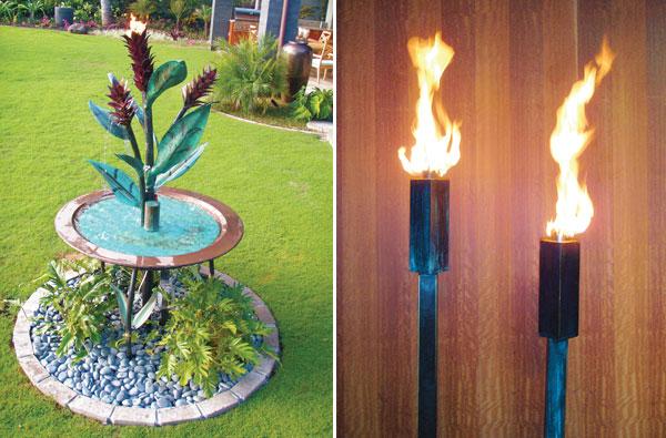 Padilla Designs Tiki Torches