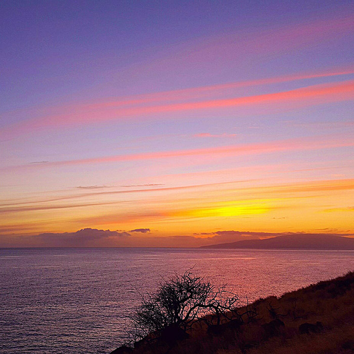 maui sunset photo