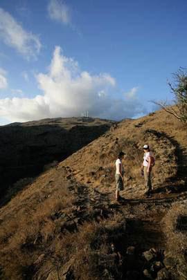 Pali hike Maui