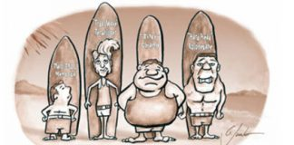 surfers illustration
