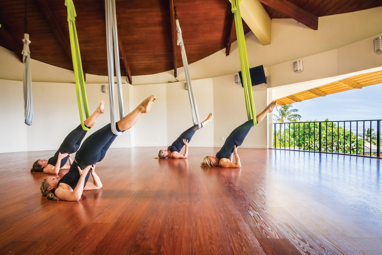 aerial yoga wailea