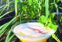 pineapple wine cocktail