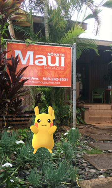 pokemon go maui magazine
